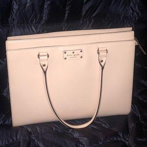 Kate Spade blush purse 100% leather